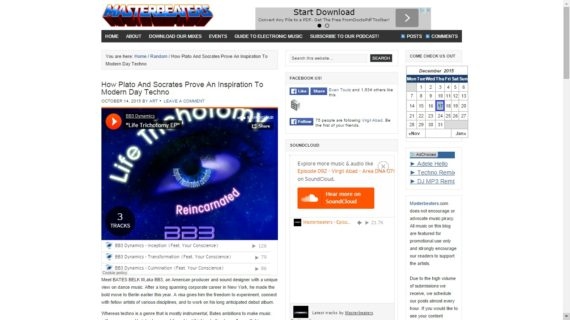 BB3 Dynamics featured on Masterbeaters