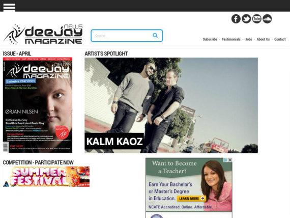 Artist spotlight for Kalm Kaoz